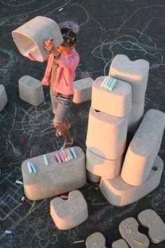 Tamago by Merci Design - Dezeen Kids Indoor Playground, Papercrete, Environmental Graphic Design, Dezeen, School Design, Kids Playing, Children, Fun, Baby