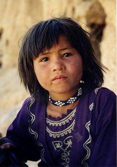 homeless Bamiyan girl (Afghanistan)