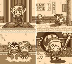 """Memories of """"The Legend of Zelda: Link's Awakening."""" Ah, sweet memories..."""