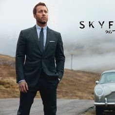 He can be my 007 any day.. Alex o'loughlin