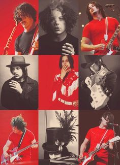 Jack White...has a Johnny Depp look.