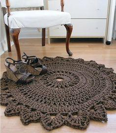 geh kelter teppich anleitung h keln crochet pattern. Black Bedroom Furniture Sets. Home Design Ideas
