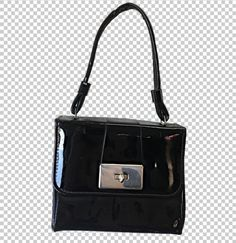 4fc8b04f32 90s Patent PVC Box Purse // 1990s Baby Black Sleek Patent Mini Bag Square  Purse with Lock Clasp and Top Handle // Adorable Y2K Aesthetic Bag