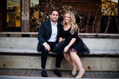 Classy Downtown Engagement with Handmade Black Tulle Skirt Vancouver Wedding Photographer, Engagement Photos, Tulle, Classy, Hair Styles, Skirts, Handmade, Black, Fashion