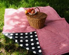 Picnic Plus 60x48 In Mega Mat Blanket Salsa Stripe Click Image To Review More Details