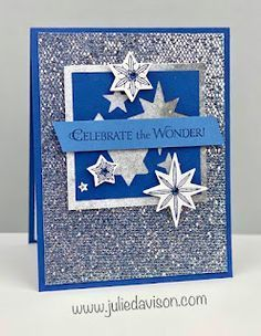 VIDEO: Stampin' Up! Stars Are Shining Catalog CASE + 3 Be Dazzling Cards ~ July-December 2021 Mini Catalog ~ www.juliedavison.com #stampinup Star Cards, Host A Party, Paper Design, Stampin Up Cards, Hanukkah, Book Pages, Free Gifts, Special Gifts, Card Stock
