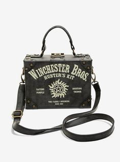 592f913bc7 Supernatural Winchester Brothers Trunk Crossbody Purse