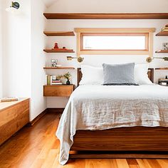 Maximizing space in a small bedroom
