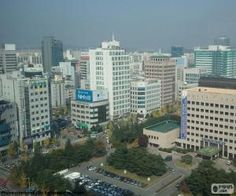 Daejeon, Corea del Sur / Daejeon, South Korea Daejeon, Cities, South Korea, San Francisco Skyline, Puzzles, Asia, Travel, World, Printable Puzzles