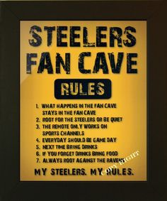 Football fan art ~ I'd just change it from Steelers to Packers. A great DIY project!
