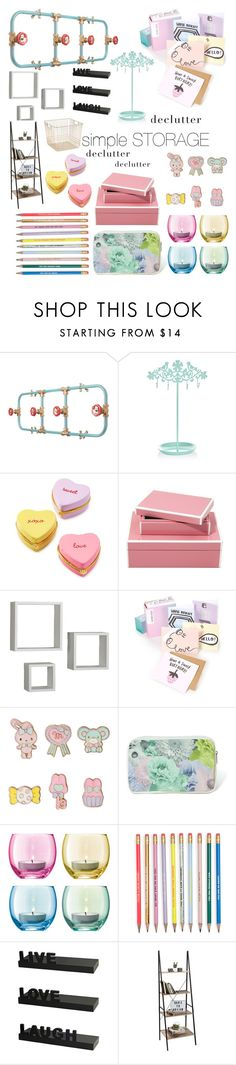 """simple storage"" by ninamaybaby ❤ liked on Polyvore featuring interior, interiors, interior design, home, home decor, interior decorating, Nick Fraser, Accessorize, Two's Company and Melannco"