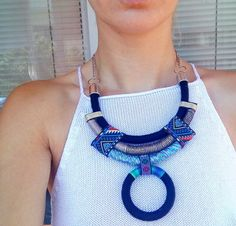 Check out this item in my Etsy shop https://www.etsy.com/listing/270190330/miley-choker-rope-necklace-statement