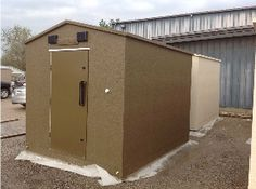 Safe Sheds Above Ground Storm Shelters