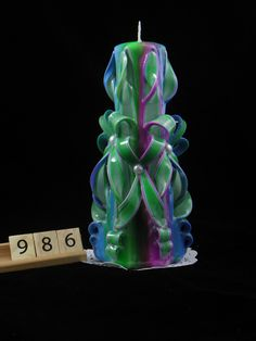 The best Hand Carved Candle, Turquoise, Fucshia, Lime Green Tie-Dye, Double Bow Carve, 7 Inch are selling out fast so don't miss this opportunity! https://www.etsy.com/listing/294746729/hand-carved-candle-turquoise-fucshia?utm_source=socialpilotco&utm_medium=api&utm_campaign=api  #candles #pillar