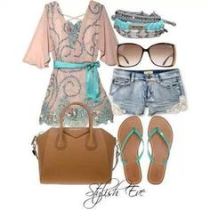Cute to the beach or brunch with friends