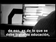 Noam Chomsky: El objetivo de la educación: La deseducación - YouTube