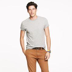 J.Crew Mens Slim Broken-In T-Shirt (Size XS)