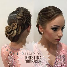 Hair by Kristina Shinkariuk #hairdresses #hairstyle #hair #kristinashinkariuk #dancesport #dancehair #imagemaximum #ballroom #dancecompetition #beauty #muah #make-up #hairstylist #wdsf #прическа #прическадлятанцев #кристина_шинкарюк_иц #kristinashinkariuk #шинкарюк_кристина_иц