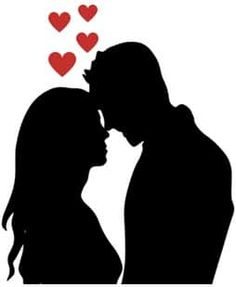 Kissing Silhouette, Bride And Groom Silhouette, Silhouette Art, Pencil Art Drawings, Love Drawings, Art Drawings Sketches, Bonny Und Clyde, Love Wallpapers Romantic, Love Doodles