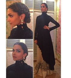 Here's how you style a Sabyasachi gown #BajiraoMastani #Tallneck