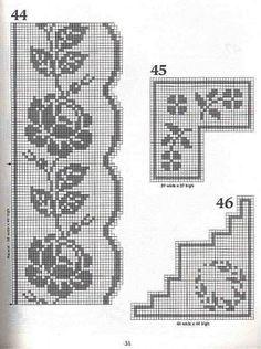 crochet chart - Google Search
