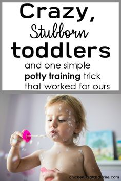 Potty training for crazy stubborn toddlers: It CAN be done! Toddler Potty, Kids Potty, Toddler Behavior, Parenting Toddlers, Parenting Advice, Potty Training Girls, Raising Girls, Baby Care Tips, Mom Advice