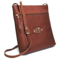 Marta Jonsson Tan leather cross body bag