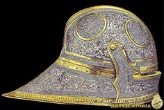 At the Battle of Lucena on 21April,1483, Boabdil was taken prisoner and this helmet was one of the spoil taken.