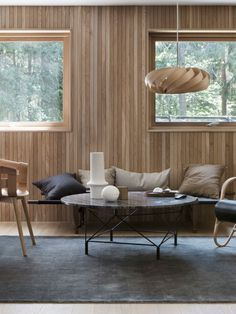Private residence, Sognsvann - HAMRAN Eames, Conference Room, Kitchens, Lounge, Interior Design, Studio, Chair, Table, Furniture