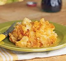 Cheesy Potato Casserole (6 Points+) #WeightWatchers #HealthyRecipes #PotatoCasserole