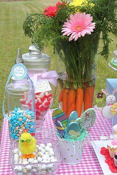 Egg Hunt Table