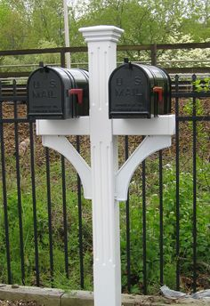 Since The Mailbox Shoppe has been a leading supplier of residential mailboxes. Large selection of post mount mailboxes Mailbox Stand, Diy Mailbox, Mailbox Post, Mailbox Ideas, Mailbox Designs, Outdoor Projects, Home Projects, Outdoor Decor, Outdoor Ideas