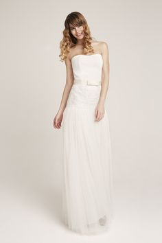 Brady Bride Corset, Rania Bride skirt and Simple bow belt. Bow Belt, Corset, One Shoulder Wedding Dress, Bows, Bride, Wedding Dresses, Simple, Skirts, Inspiration