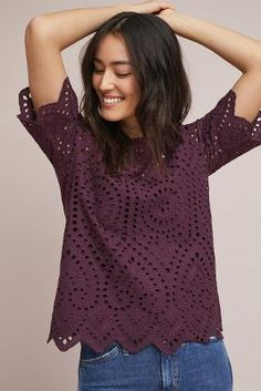 Shop the Eyelet Boat Neck Top and more Anthropologie at Anthropologie today. Read customer reviews, discover product details and more.
