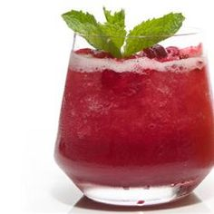 """Adult Cranberry Slush - (4 1/2 star rating) """"My mother got this recipe from a friend years ago and its become an integral part of our Thanksgiving and Christmas celebrations! We leave it in the freezer and we all serve ourselves from there! — Amy"""