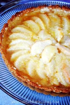 Sweet & Simple Pear Tart Recipe