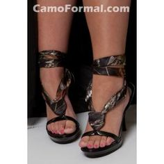 camo-strappy-heels, Love these.