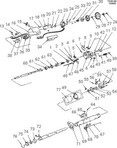 60 steering column diagram the 1947 present chevrolet. Black Bedroom Furniture Sets. Home Design Ideas