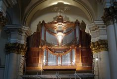A 125-year organ returned home to the Primatial Cathedral of Bogotá after a restoration that took three years and cost 2.5 billion pesos (US $833,000). Colombia
