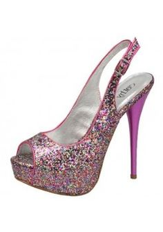 TRENDY GLITTER HEELS-Heels-prom heels,high heels shoes,leopard heels,hot pink heels,cheap heels,party shoes heels,sexy heels,Platform Heels,high heel pumps,Wedge Heels,Flat Heels