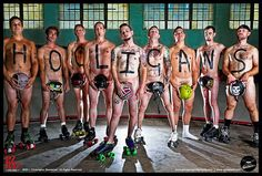 $10 Men of Maunary. Male Roller Derby is sexy