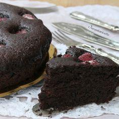 Torta Cioccolato e Lamponi | Senza uova e Senza burro