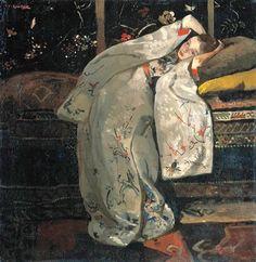 Budgetschilderij, prachtige olieverfschilderijen, Macke, Van