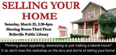 """""""Selling Your Home"""" season is coming! Come and learn some helpul tips to prepare your home."""