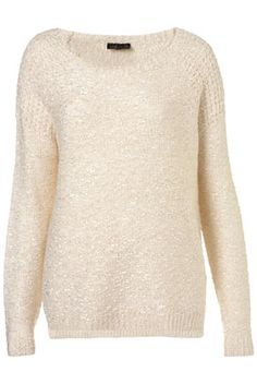 TOPSHOP sweater, this looks comfy
