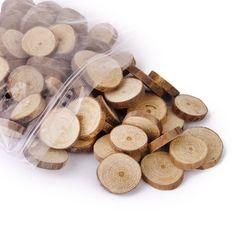 Pixnor-Log, 3 cm, in legno, fette decorate dischi per lavori fai da te per decorazioni: Amazon.it: Casa e cucina