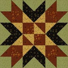 Wyoming Valley Quilt Block..gorgeous block-free instructions