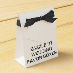 Custom Personalized Tent Wedding Favor Boxes - create your own gifts personalize cyo custom