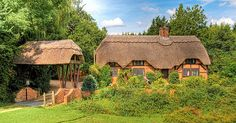 Thatched cottage in Brook, New Forest, Hampshire