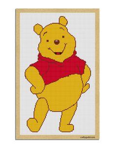 winnie the pooh free cross stitch pattern-01-01